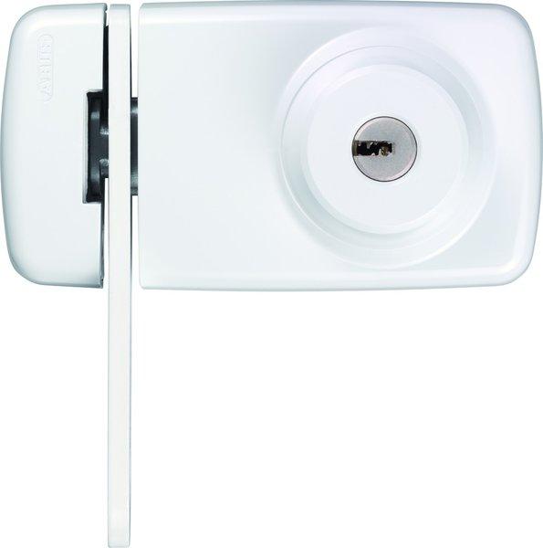 abus t r zusatzschloss 7035 sb braun mit zylinder ec550. Black Bedroom Furniture Sets. Home Design Ideas